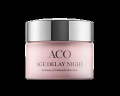 ACO FACE AGE DELAY NIGHT CREAM NORMAL SKIN P 50 ML